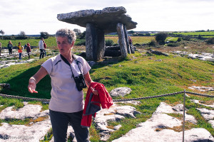 Mary, our guide on The Burren.
