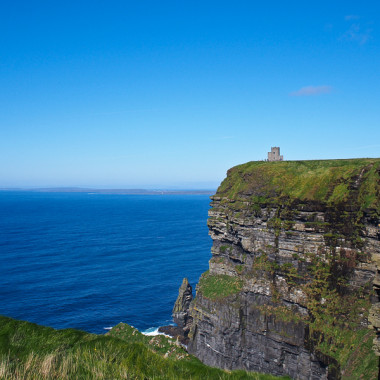 On Land's Edge at the Cliffs of Moher