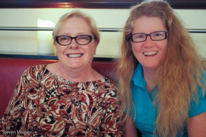 Cathy and Colleen
