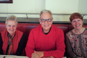 Judith, Tom and Suzzane